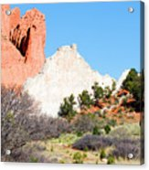 Cathedral Rock In Garden Of The Gods Park Acrylic Print