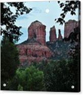 Cathedral Rock Rrc 081913 Aa Acrylic Print