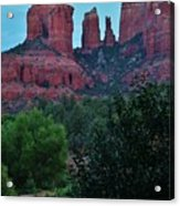 Cathedral Rock Rrc 081913 Ab Acrylic Print