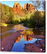 Cathedral Rock Sedona Acrylic Print by Matt Suess