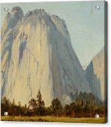 Cathedral Rocks  - Yosemite Valley Acrylic Print