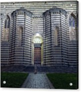 Cathedral Side Door Orvieto Italy Acrylic Print