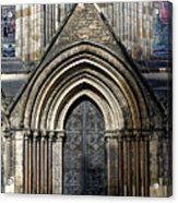 Cathedral Side Door Acrylic Print