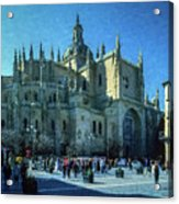 Cathedral, Spain Acrylic Print