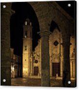 Cathedral Square Havana Cuba Acrylic Print