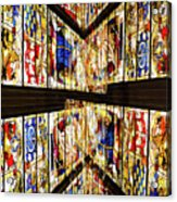 Cathedral Window Montage Acrylic Print