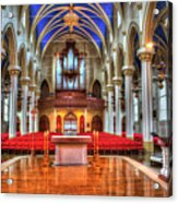 Cathedrial Assumption Acrylic Print