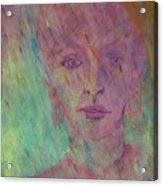 Catherine In Summer Rain Acrylic Print