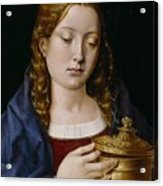 Catherine Of Aragon As The Magdalene Acrylic Print