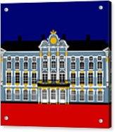 Catherines Palace Inspiration - Katharinenhof Inspiration St Petersburg Russia Acrylic Print