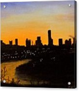 Catherine's Sunrise Acrylic Print by Jack Skinner