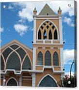 Catholic Church In Ibarra Acrylic Print