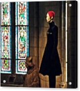 Catholic Imagination Fashion Show 2  Acrylic Print