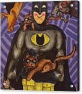 Catman Acrylic Print