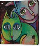 Cats I  2000 Acrylic Print