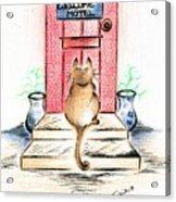 Cat's Welcome Motel Acrylic Print