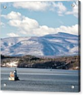 Catskill Mountains With Lighthouse Acrylic Print