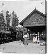 Catskill Railroad Acrylic Print