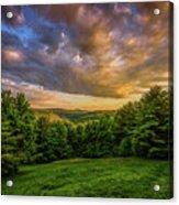 Catskill Sunset Acrylic Print