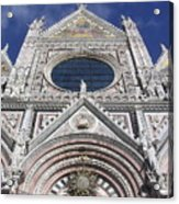 Cattedrale Di Siena Acrylic Print