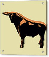 Cattle Baron Acrylic Print by Slade Roberts