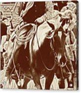 Cowboy Comtemplation Acrylic Print