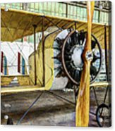 Caudron G3 Propeller And Cockpit - Vintage Acrylic Print