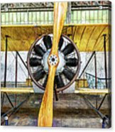 Caudron G3 Propeller - Vintage Acrylic Print