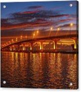 Causeway Sunrise Acrylic Print