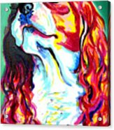 Cavalier - Herald Acrylic Print by Alicia VanNoy Call