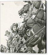 Cavalry Charge Acrylic Print