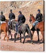 Cavalry Rides Acrylic Print