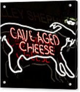 Cave Aged Cheese Acrylic Print