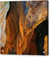 Cave At Cheddar Gorge  Acrylic Print by Jen White