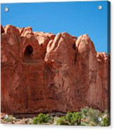Cave Formation Arches National Park Acrylic Print
