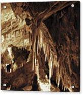 Cave Interior Acrylic Print