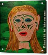 Cave Lady Acrylic Print