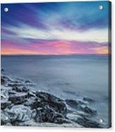 Cave Point Sunrise Acrylic Print