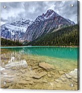 Cavell Lake Jasper Acrylic Print