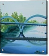 Caveman Bridge Grants Pass Oregon Acrylic Print