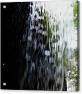Cavern Cascade Watkins Glen Acrylic Print by InTheSane DotCom