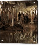 Cavern Reflections Acrylic Print