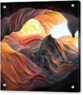 Caverne Acrylic Print
