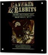 Caverns And Rabbits Acrylic Print