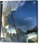 Cayman Nite Sky Acrylic Print