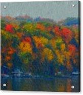 Cayuga Autumn Acrylic Print