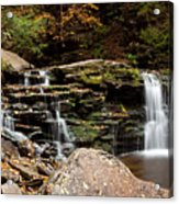 Cayuga Falls Acrylic Print