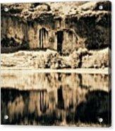 Columbia Basin Abstract Acrylic Print