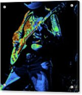 Cdb Winterland 12-13-75 #51 Enhanced In Cosmicolors #1 Acrylic Print
