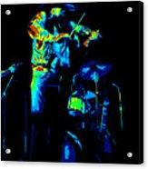Cdb Winterland 12-13-75 #7 Enhanced In Cosmicolors Acrylic Print